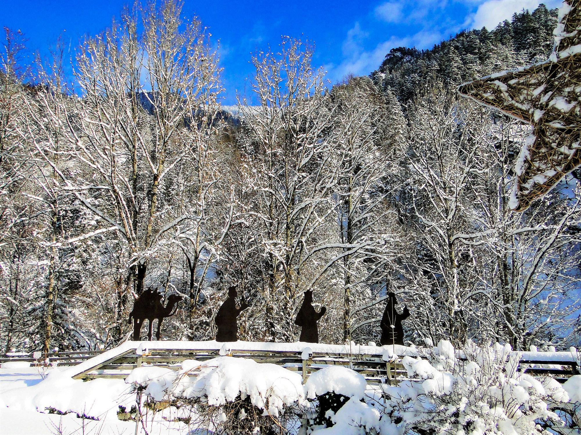 Winterzauber in der Wasserlochschenke Palfau
